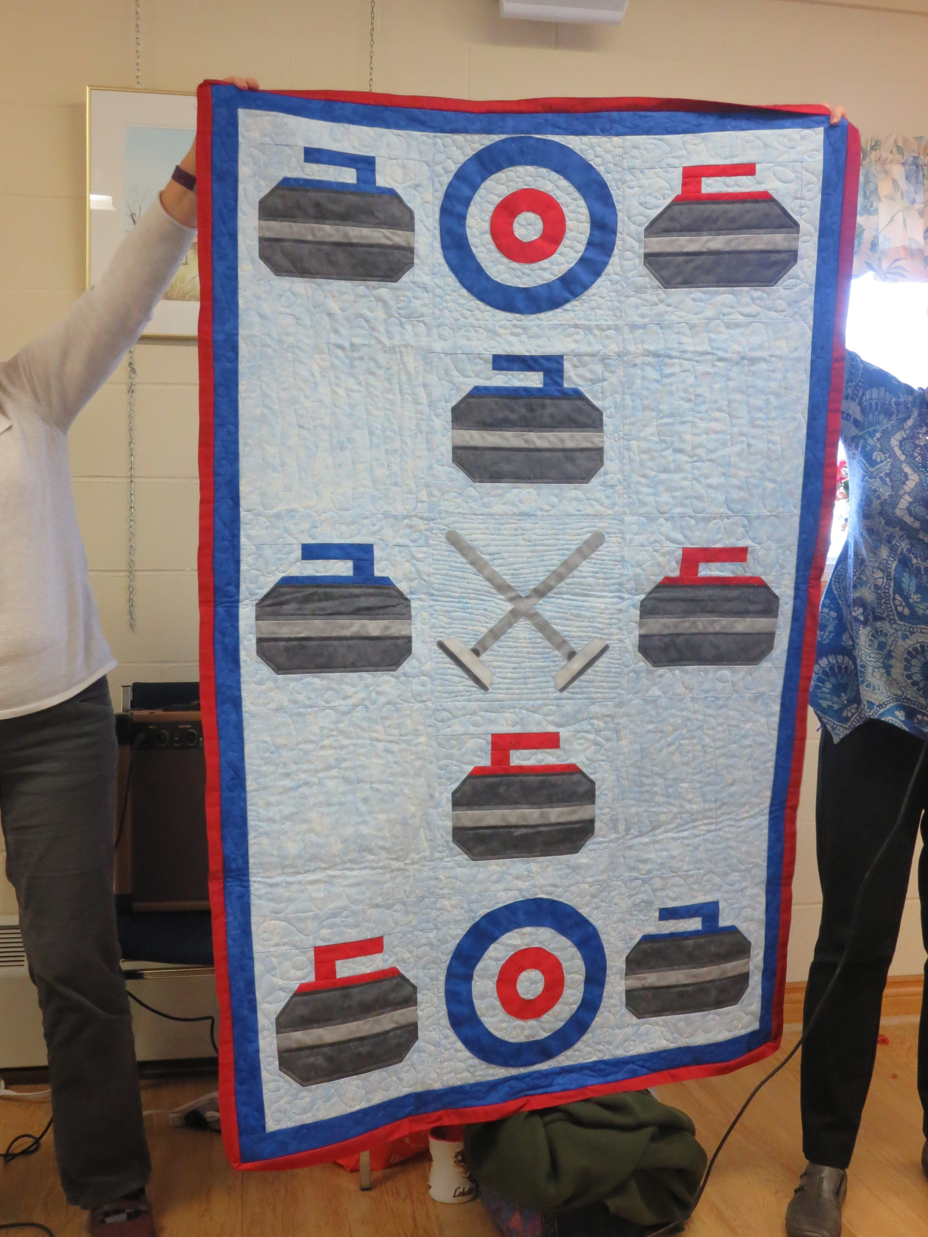 Cynthia Guerin Curling Quilt