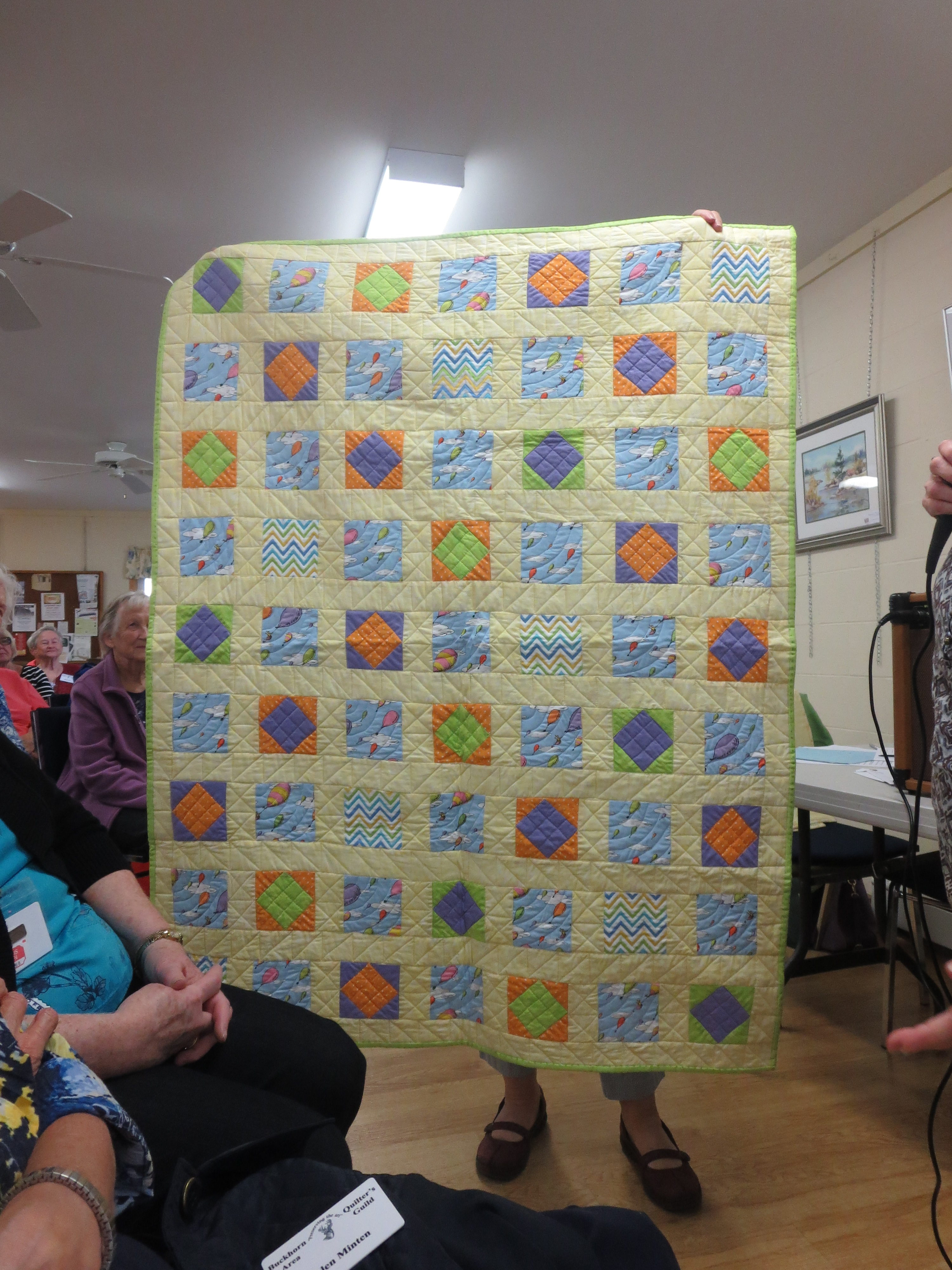 Eileen Baker's Square in a Square Quilt
