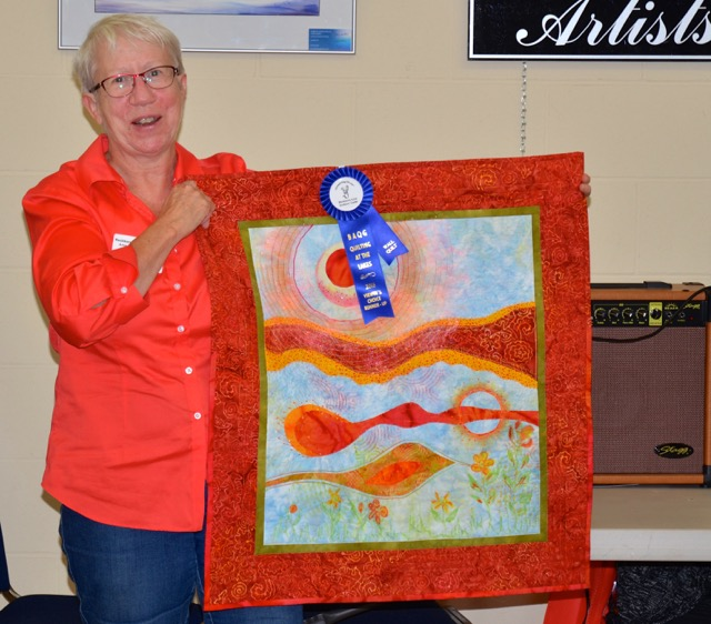 Wall Quilts - 2nd Place Joanne Misener Heat Wave
