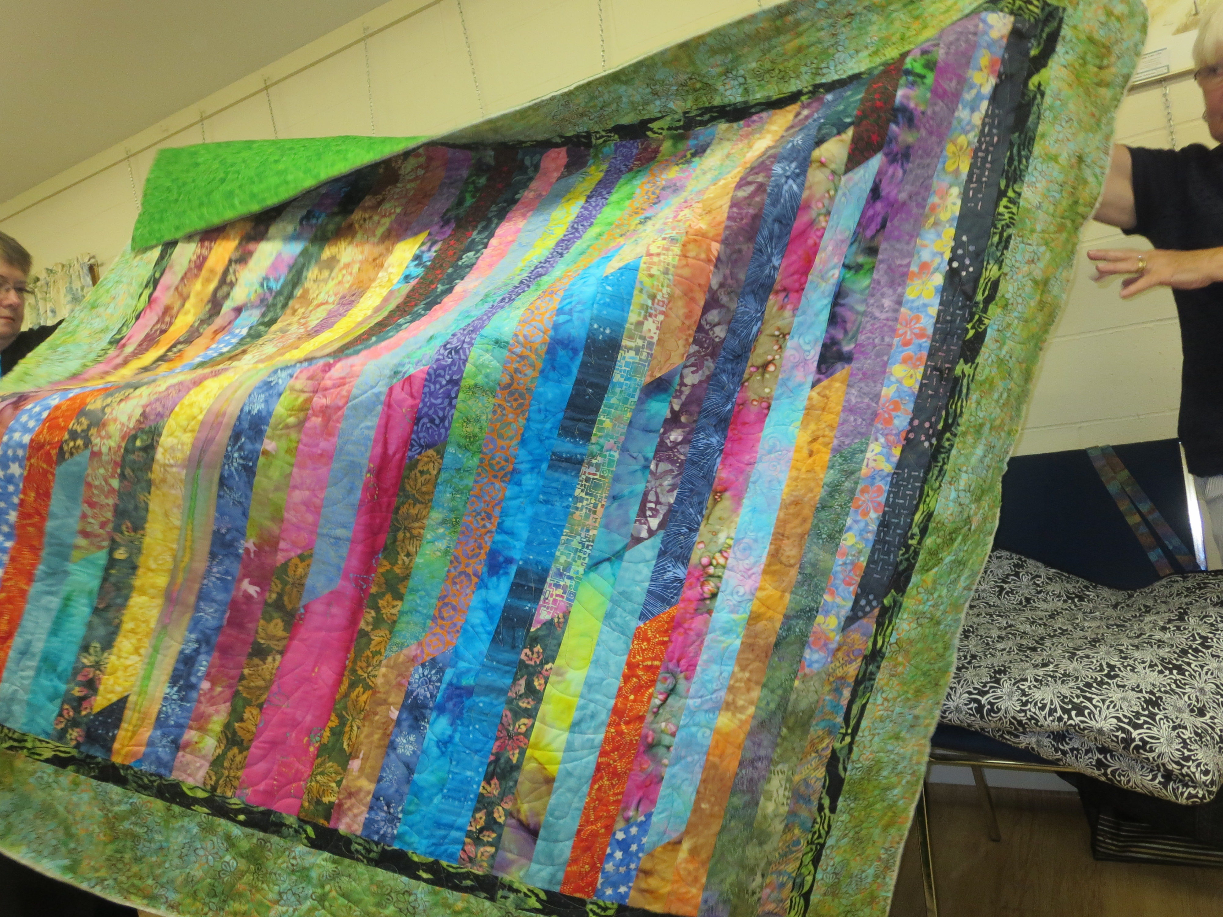 Martha Woodford's Strip Quilt