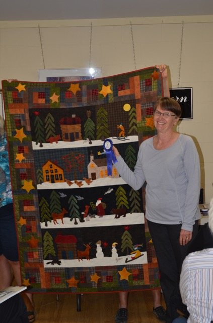 Small Quilts - 2nd Place Penny Pierce Silent Night
