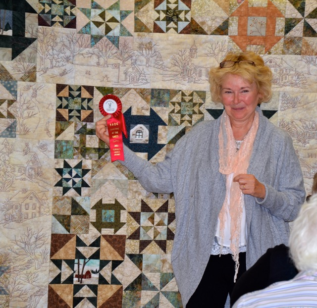 Small Quilts - 1st Place Sue Sisson A Winter's Tale